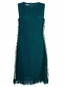 Oscar de la Renta sleeveless fringe dress - Green