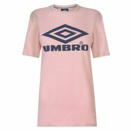 Umbro Umbro Logo T Shirt Ladies
