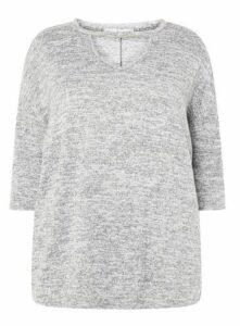 Grey Cut Out Jumper, Grey