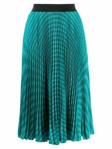 Karl Lagerfeld logo motif skirt - Green