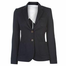 Gant Gant Jersey Pique Blazer Womens