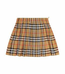 Vintage Check Skirt