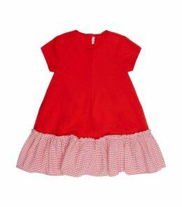GinghamHem Dress