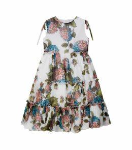 Hydrangea Ruffle Dress