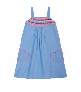 Chambray Smock Dress