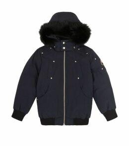 Fur Trim Parka Coat