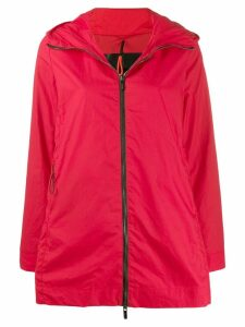 Rrd hooded parka coat - Red