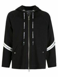 À La Garçonne À La Garçonne + Hering oversized hoodie - Black