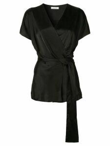 Nina Ricci tie-waist blouse - Black