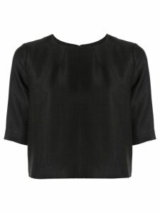 Partow boxy fit top - Black
