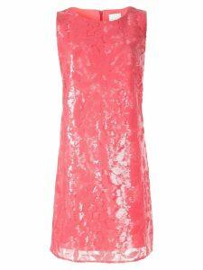 Ingie Paris sequinned mini dress - Pink