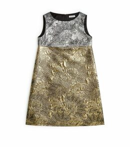 Lurex Brocade Dress