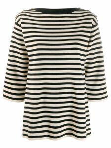 Gucci Biarritz-appliqué knitted top - Neutrals