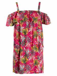 Cia Marítima off-the-shoulder dress - Pink