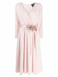 Marc Jacobs Rosette wrap dress - Pink