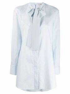 Dorothee Schumacher bow detail shirt - Blue