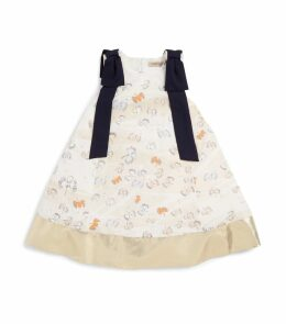 Bow Trapeze Dress