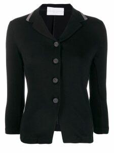 Fabiana Filippi knitted style blazer jacket - Black