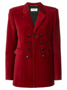 Saint Laurent oficcer buttons blazer - Red