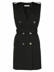 Givenchy belted double-breasted dress - Black