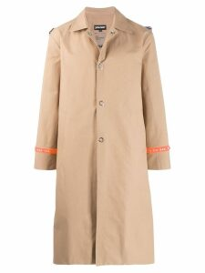 Youser banded trench coat - Neutrals