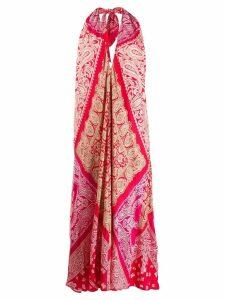 Ralph Lauren patchwork bandana sleeveless dress - Red