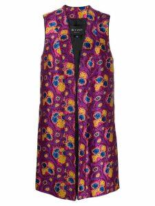 Etro abstract waistcoat - Pink