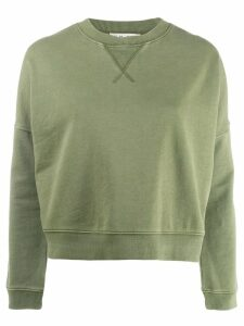YMC welt detail jumper - Green