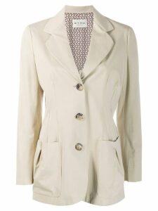 Etro cinched blazer - Neutrals