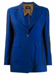 Etro single-breasted blazer - Blue