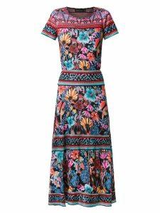 Cecilia Prado inacia floral knitted dress - Multicolour