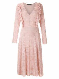 Cecilia Prado knitted midi dress - Pink