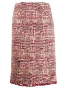 Etro embroidered midi skirt