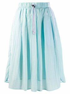 Sergio Tacchini drawstring full skirt - Blue