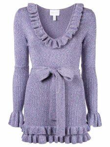 Alice Mccall Love Letters midi dress - Purple