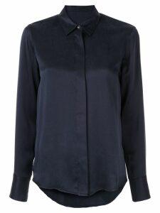 Nobody Denim washed slim-fit shirt - Blue
