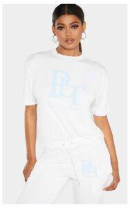PRETTYLITTLETHING Tall White T-Shirt, White