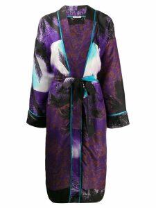 P.A.R.O.S.H. kimono style coat - Purple