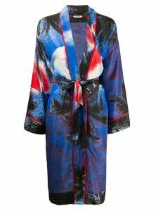 P.A.R.O.S.H. kimono style coat - Blue