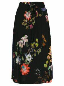 Etro floral print skirt - Black