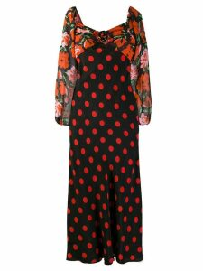 Rixo Josephine dress - Black