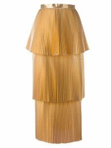 Stella McCartney Melody skirt - Metallic