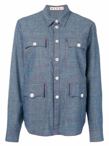 Marni pocket shirt - Blue