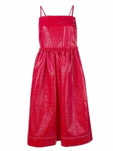 Marni ruched party dress - Red
