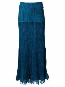 Marni knitted skirt - Blue