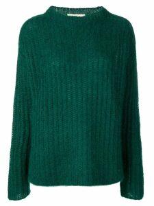Marni fine knit sweater - Green