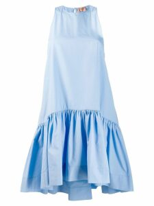 Nº21 ruffled hem dress - Blue