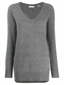 Equipment V-neck jumper - Grey