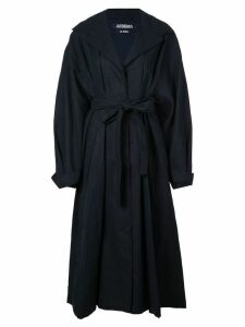 Jacquemus belted trench coat - Blue