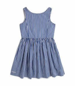 Cotton Bengal-Stripe Dress